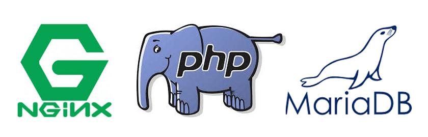 nginx + Php7 + mariaDB = Web_Server