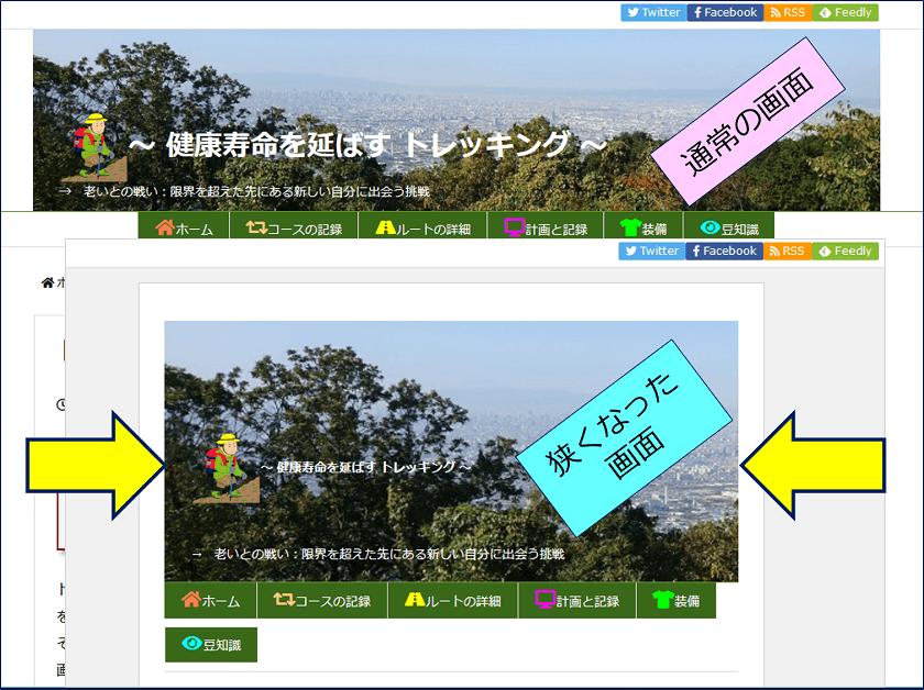 WordPressのテーマ「Luxeritas」を使用したサイトで、突然、画面の表示サイズが狭くなる